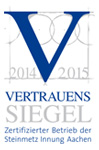 zertifizierter Betrieb der Steinmetz Innung Aachen