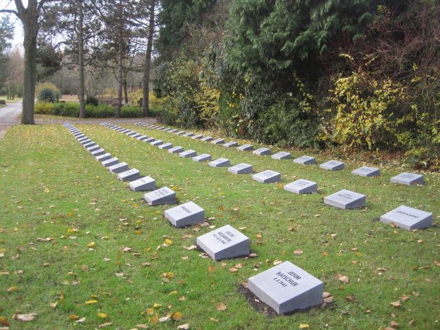 Gedenkstätte für russische Kriegsopfer auf dem Aachener Westfriedhof